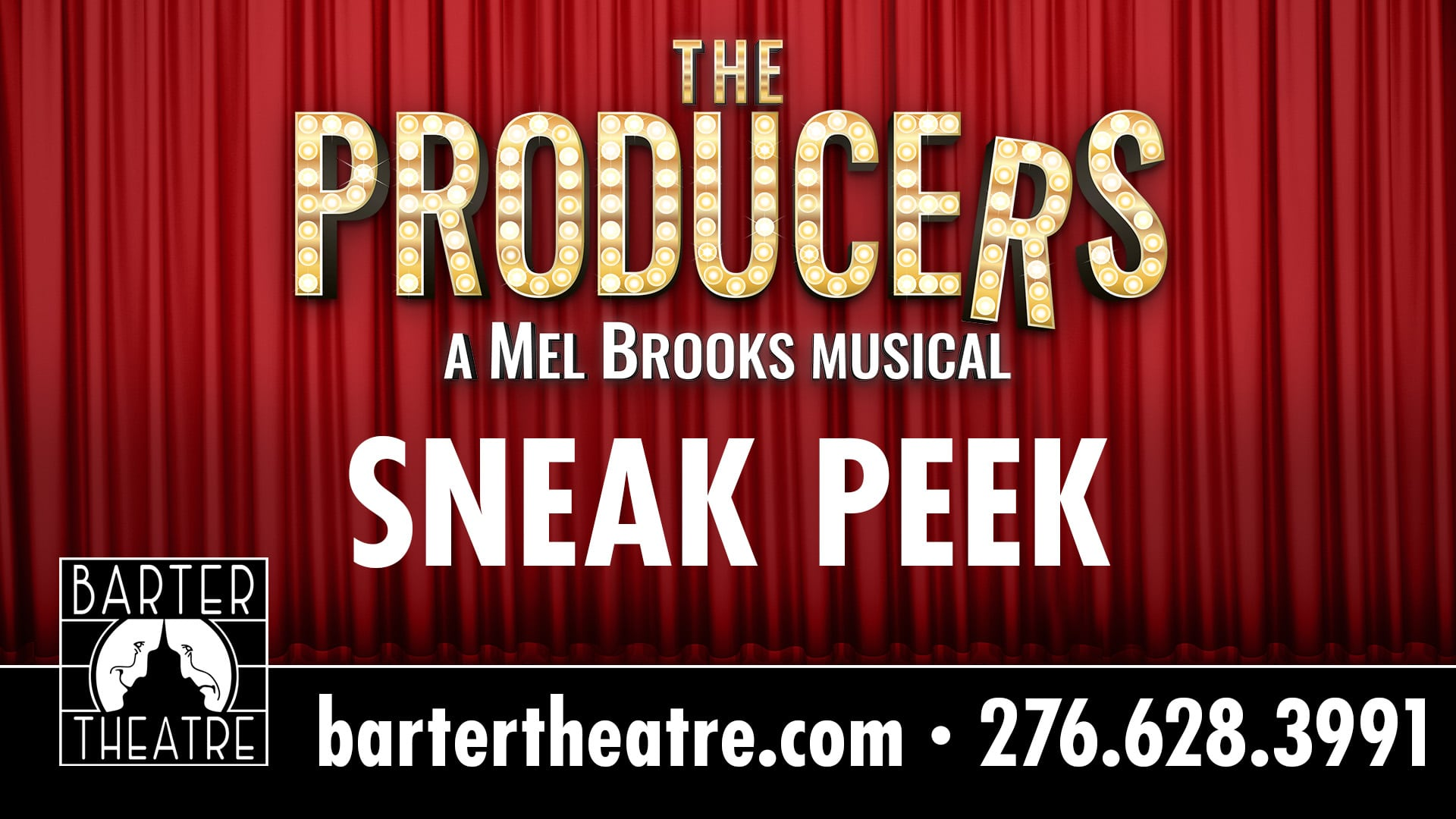 Barter Theater's The Producers - A Mel Brooks Musical Sneak Peek