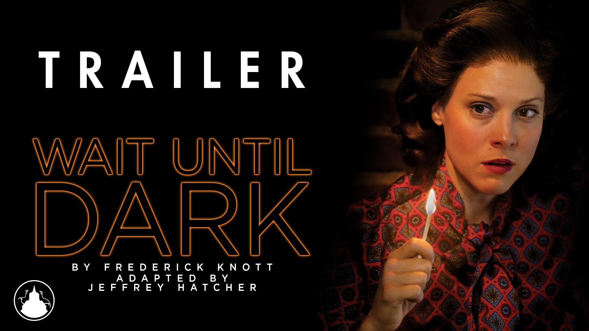 Thumbnail picture for the Wait Until Dark trailer featuring footage from the production.