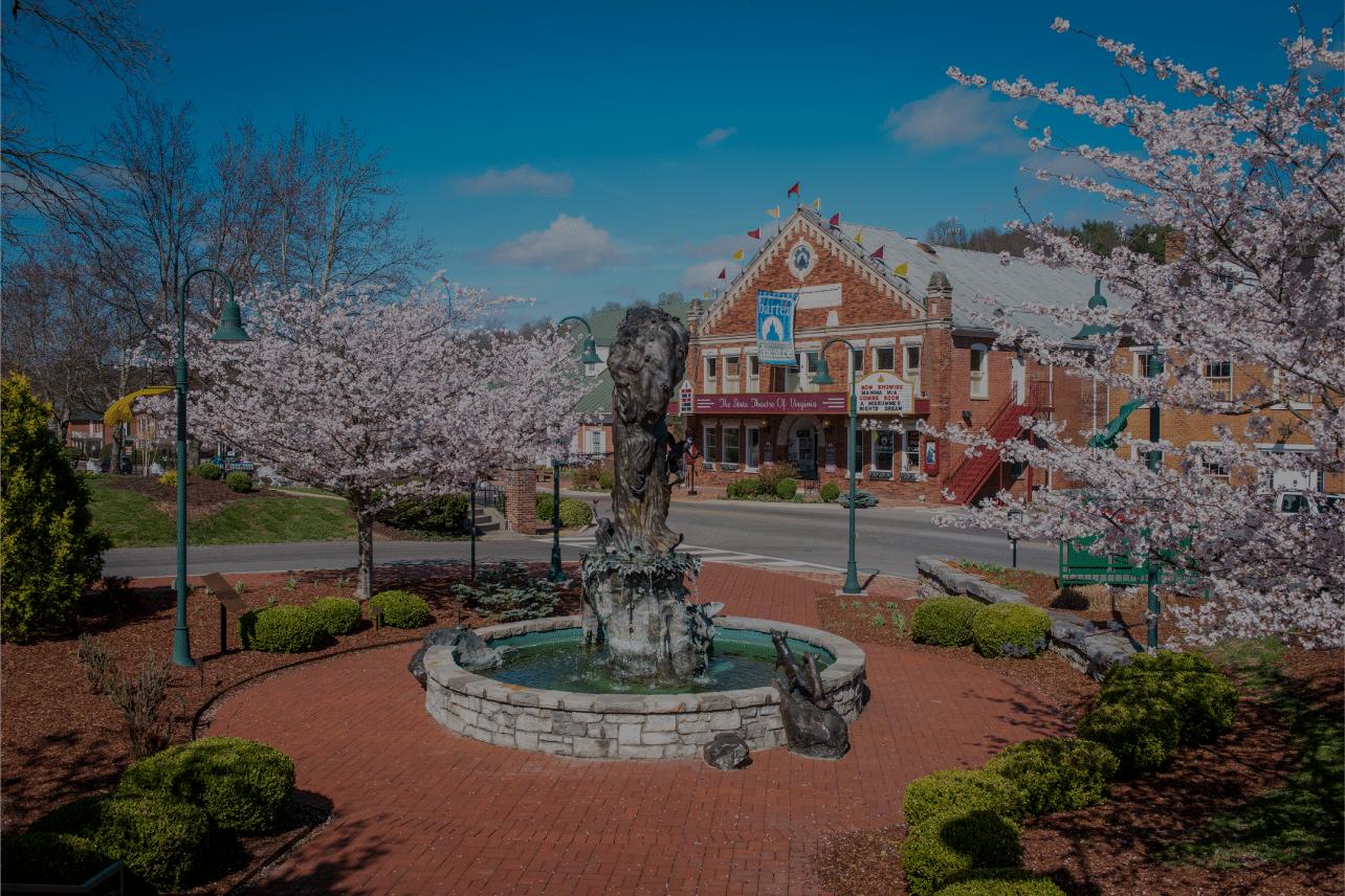 Spring at Barter Theatre in Abingdon, VA.