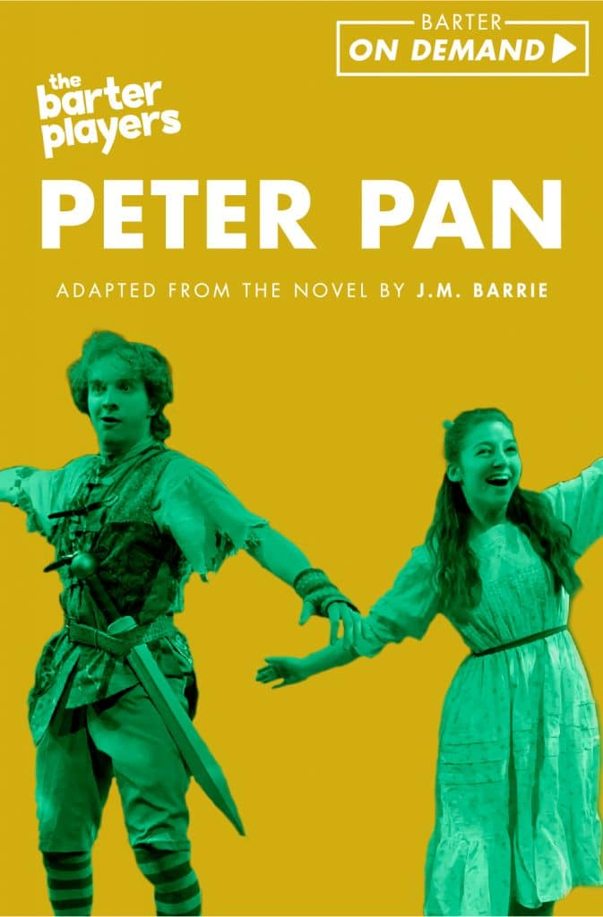 The Barter Players Peter Pan On Demand Poster