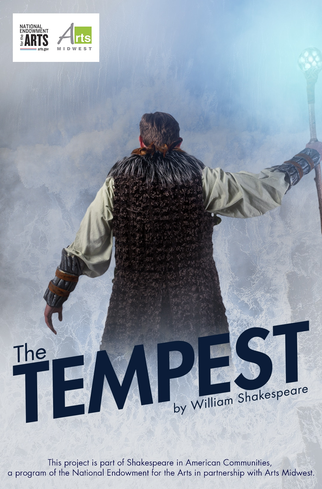 Web Poster for The Tempest - Barter at the Moonlite