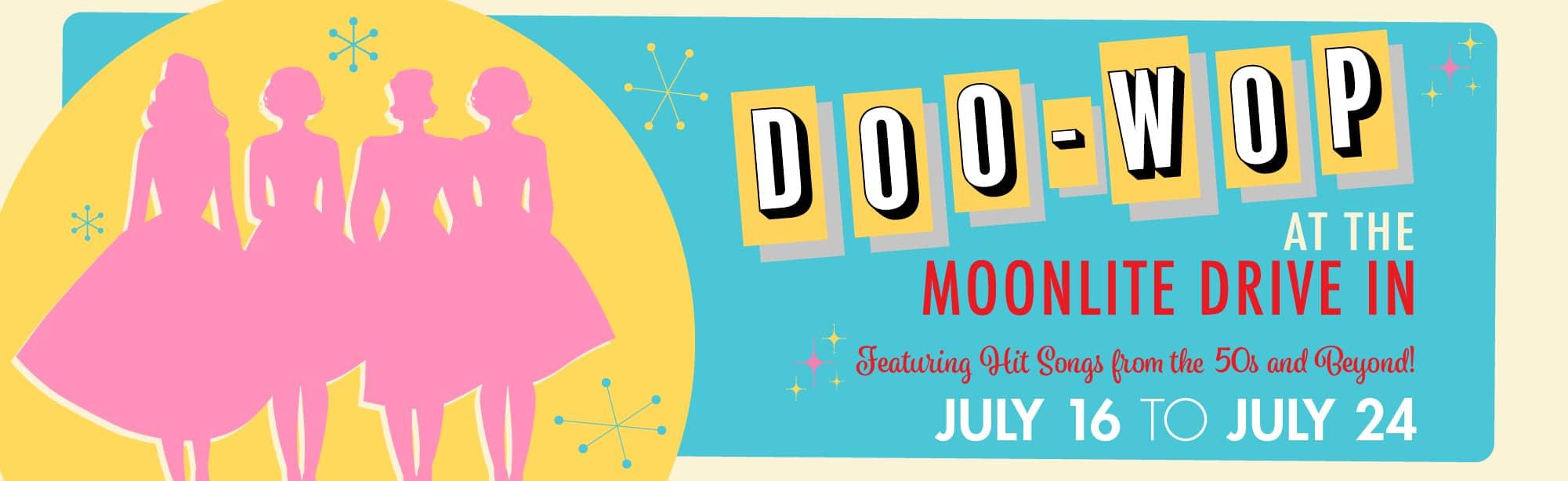 Doo-Wop Barter at the Moonlite Web Banner