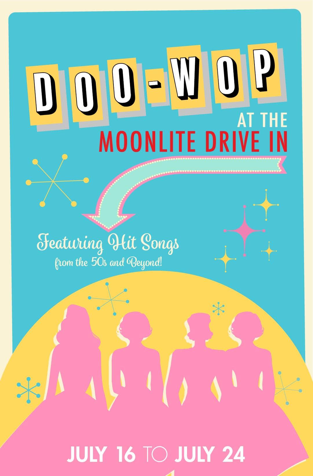 Doo-Wop Barter at the Moonlite Web Poster