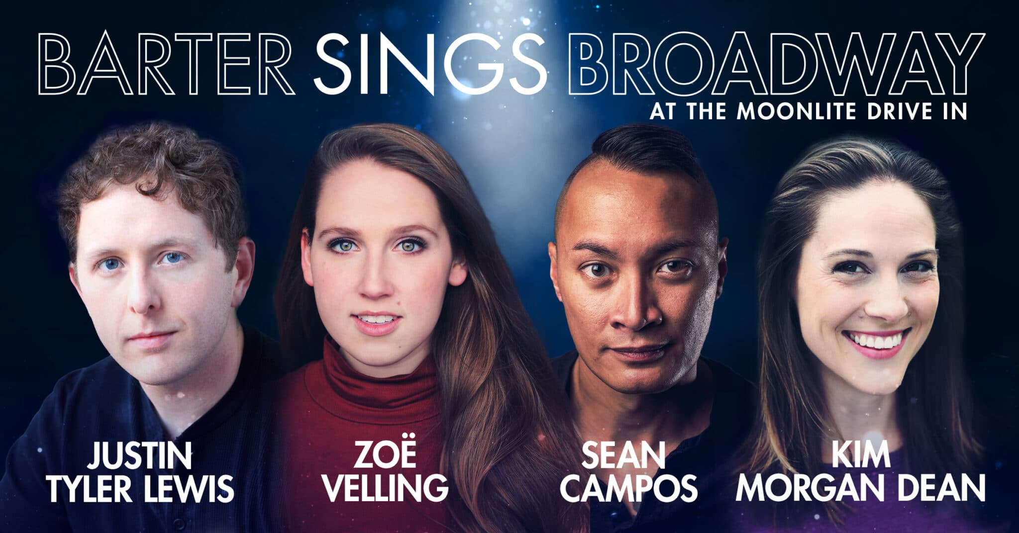 Barter Sings Broadway at the Moonlite